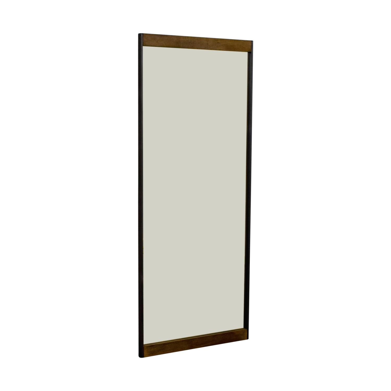 shop West Elm West Elm Mango Wood Industrial Floor Mirror online