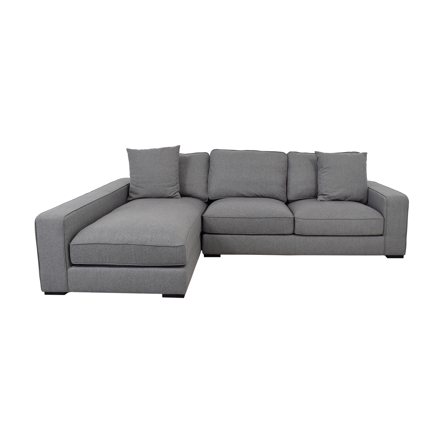 Ainsley Gray Left Chaise Sectional discount