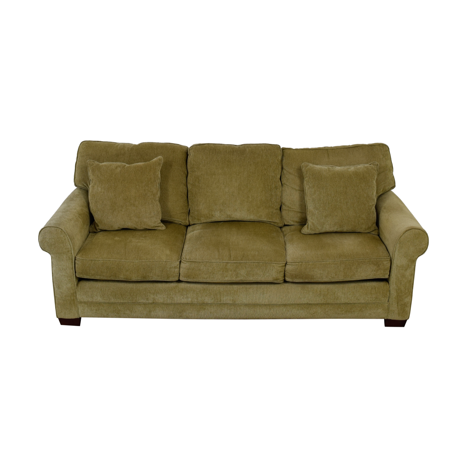 Raymour and Flanigan Raymour & Flanigan Grey Three-Cushion Couch coupon