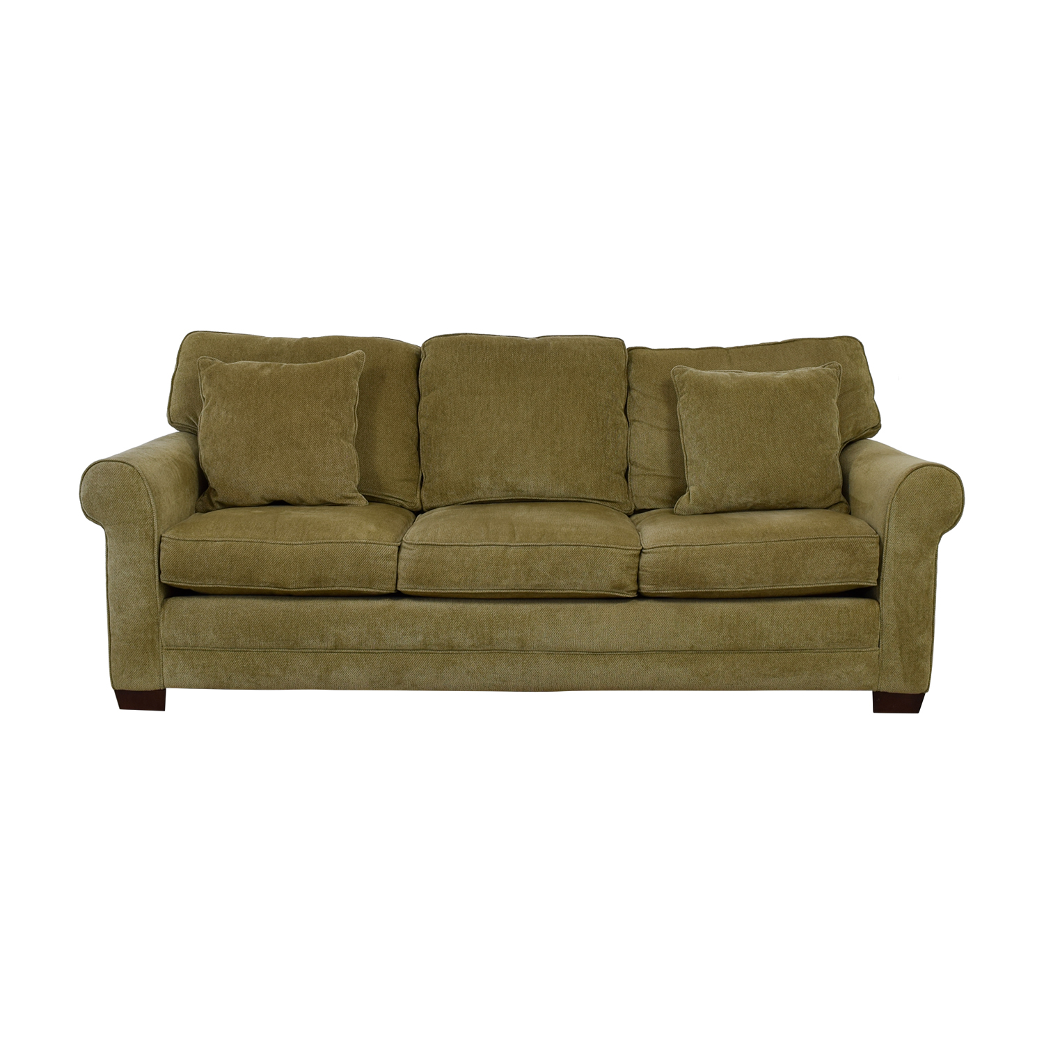 Raymour and Flanigan Raymour & Flanigan Grey Three-Cushion Couch used