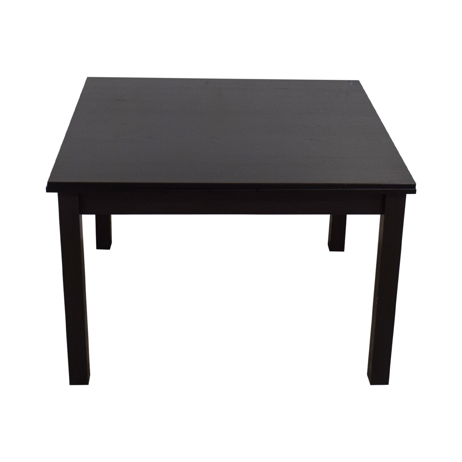 Crate & Barrel Crate & Barrel Expandable Wood Dining Table on sale