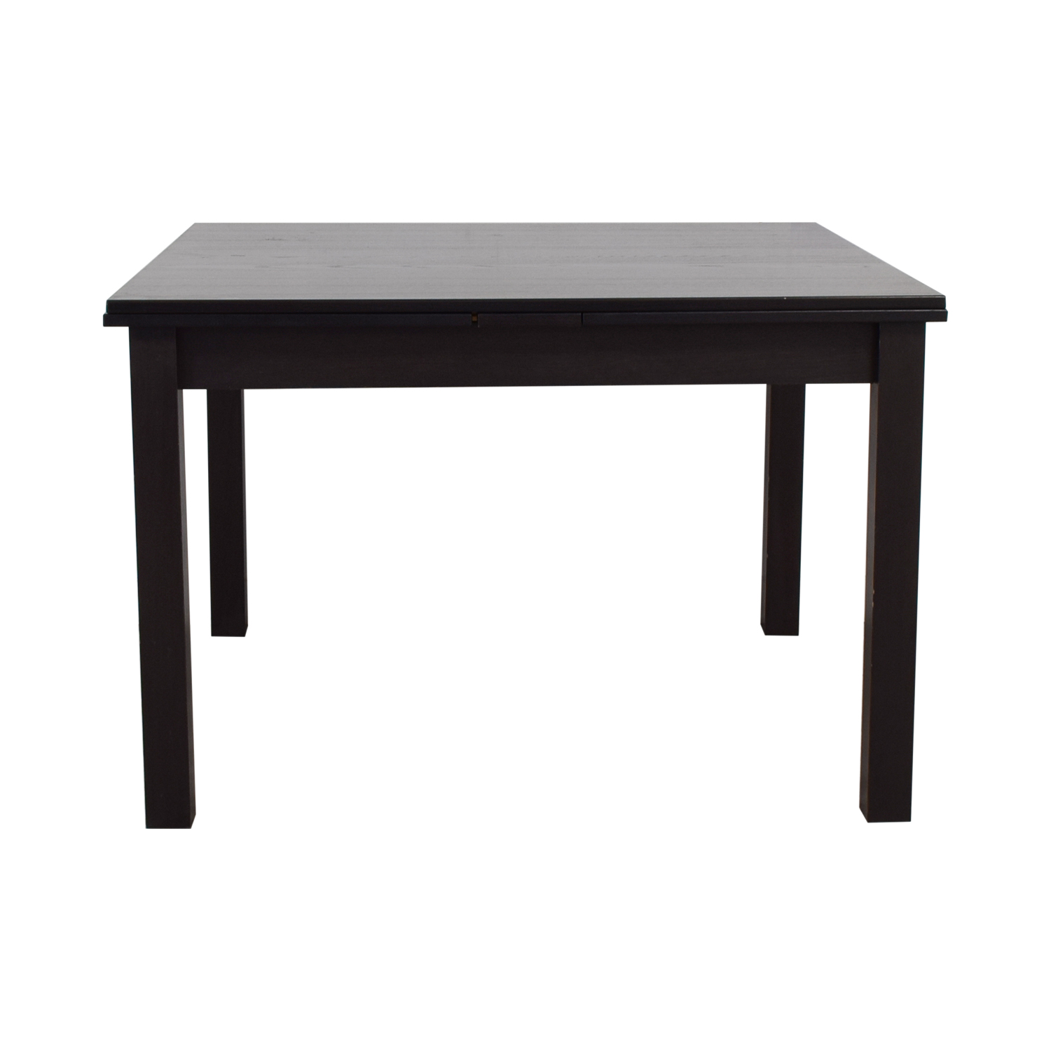 Crate & Barrel Crate & Barrel Expandable Wood Dining Table dimensions