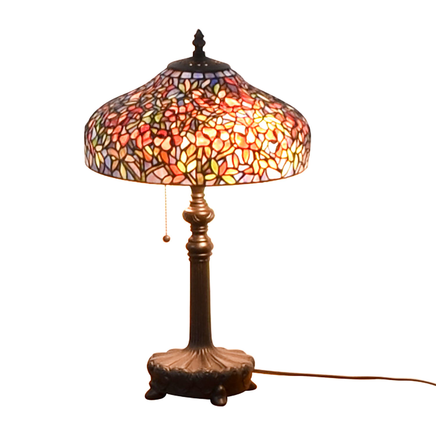 70 Off Quoizel Ouoizel Tiffany Style Table Lamp Decor