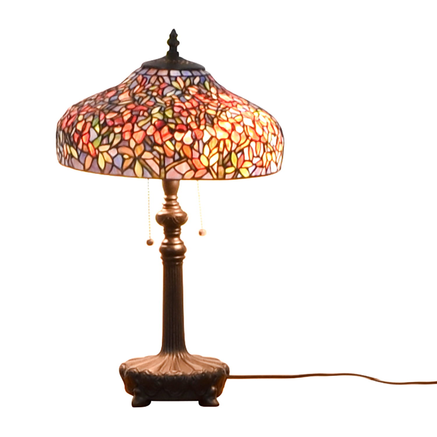Ouoizel Tiffany-Style Table Lamp Quoizel