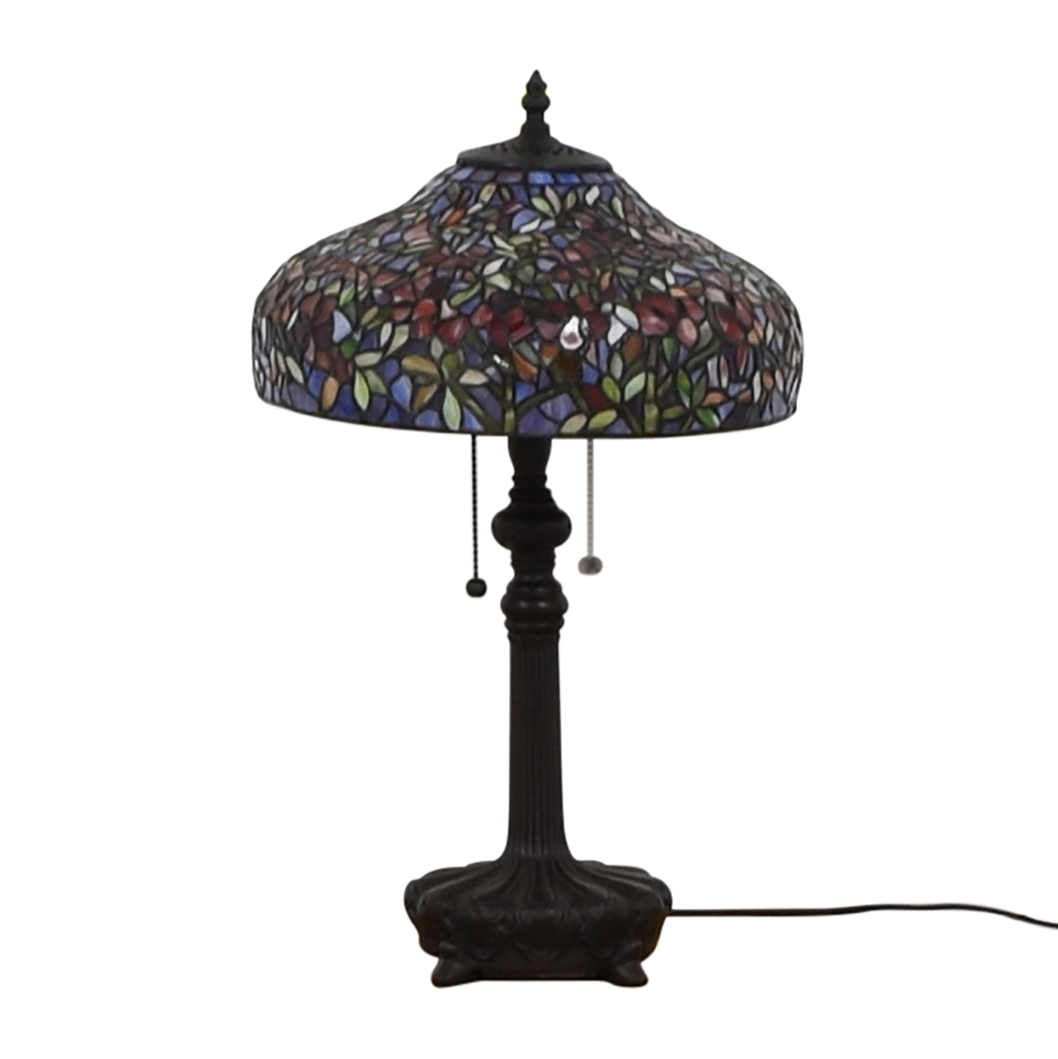 Quoizel Ouoizel Tiffany-Style Table Lamp nyc
