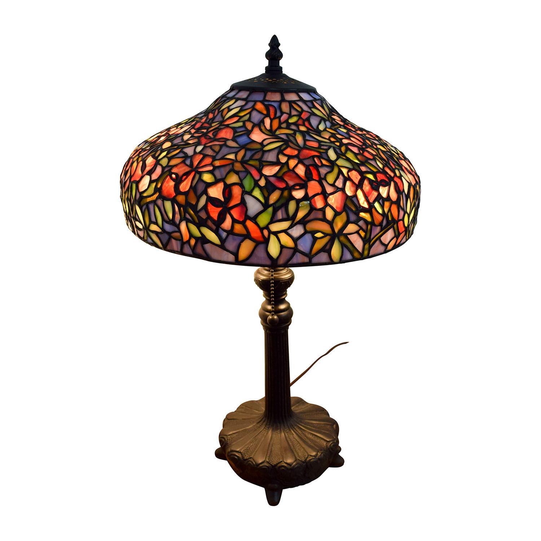 Quoizel Ouoizel Tiffany-Style Table Lamp / Decor