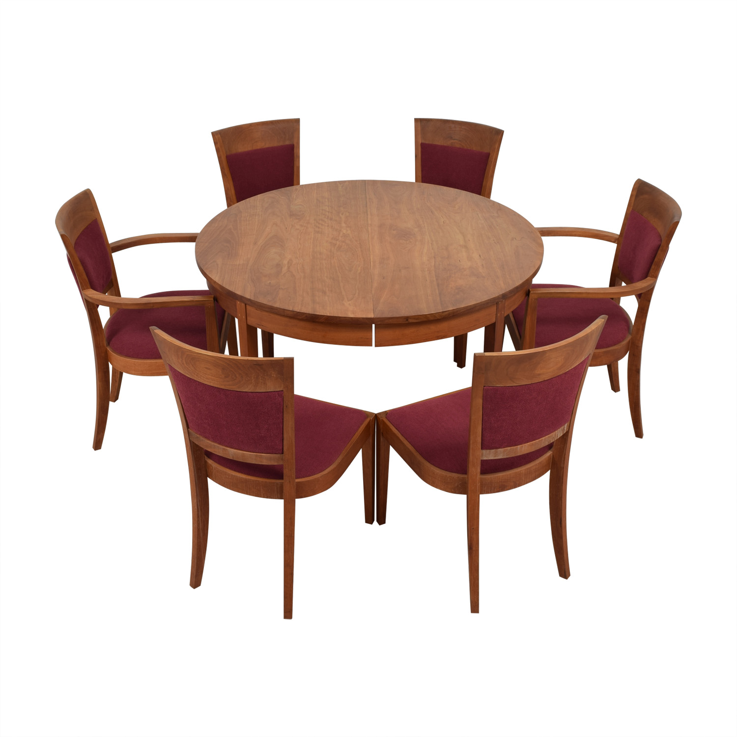 Thomas A. Moser Thomas A. Moser Wood Extendable Dining Set discount