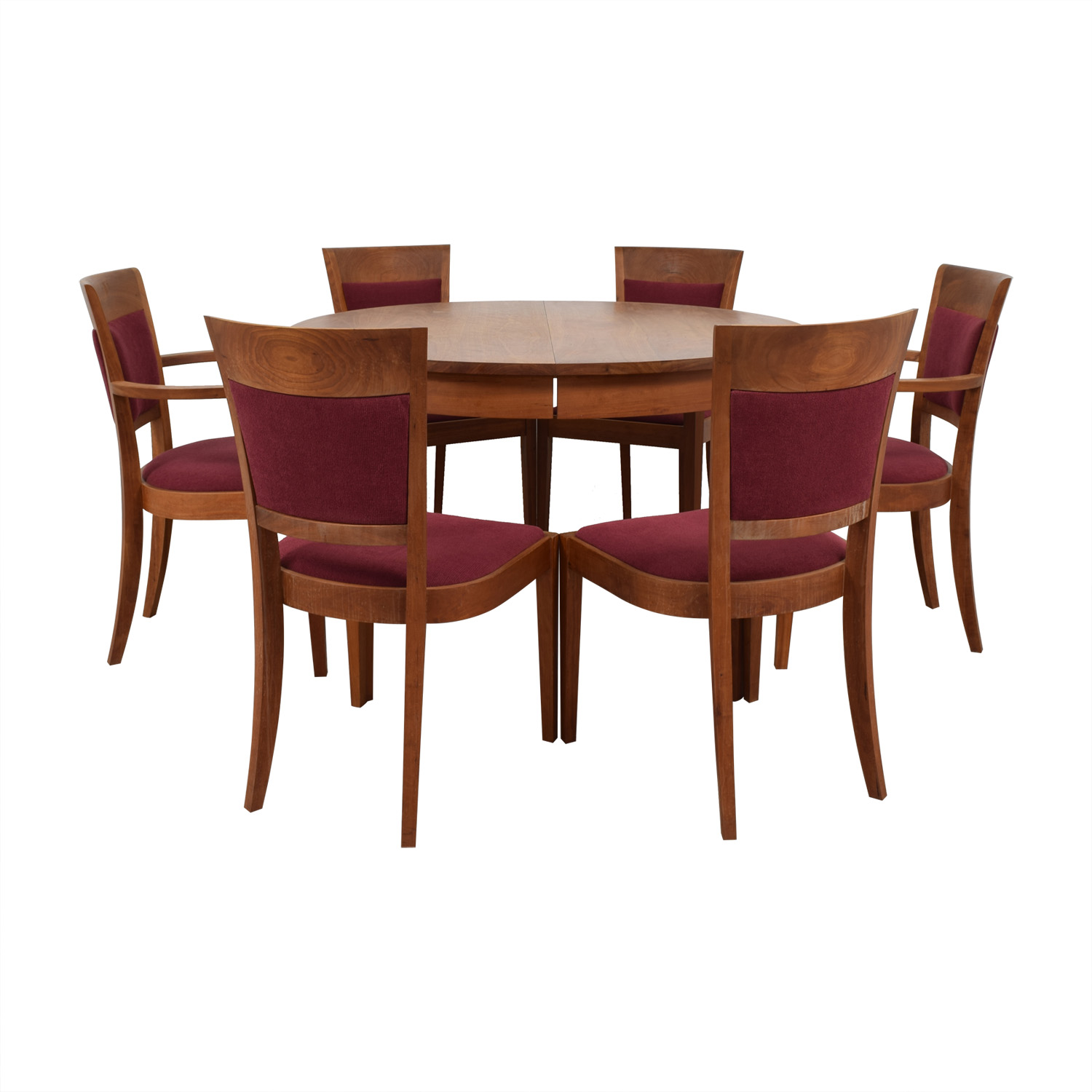 Thomas A. Moser Thomas A. Moser Wood Extendable Dining Set second hand