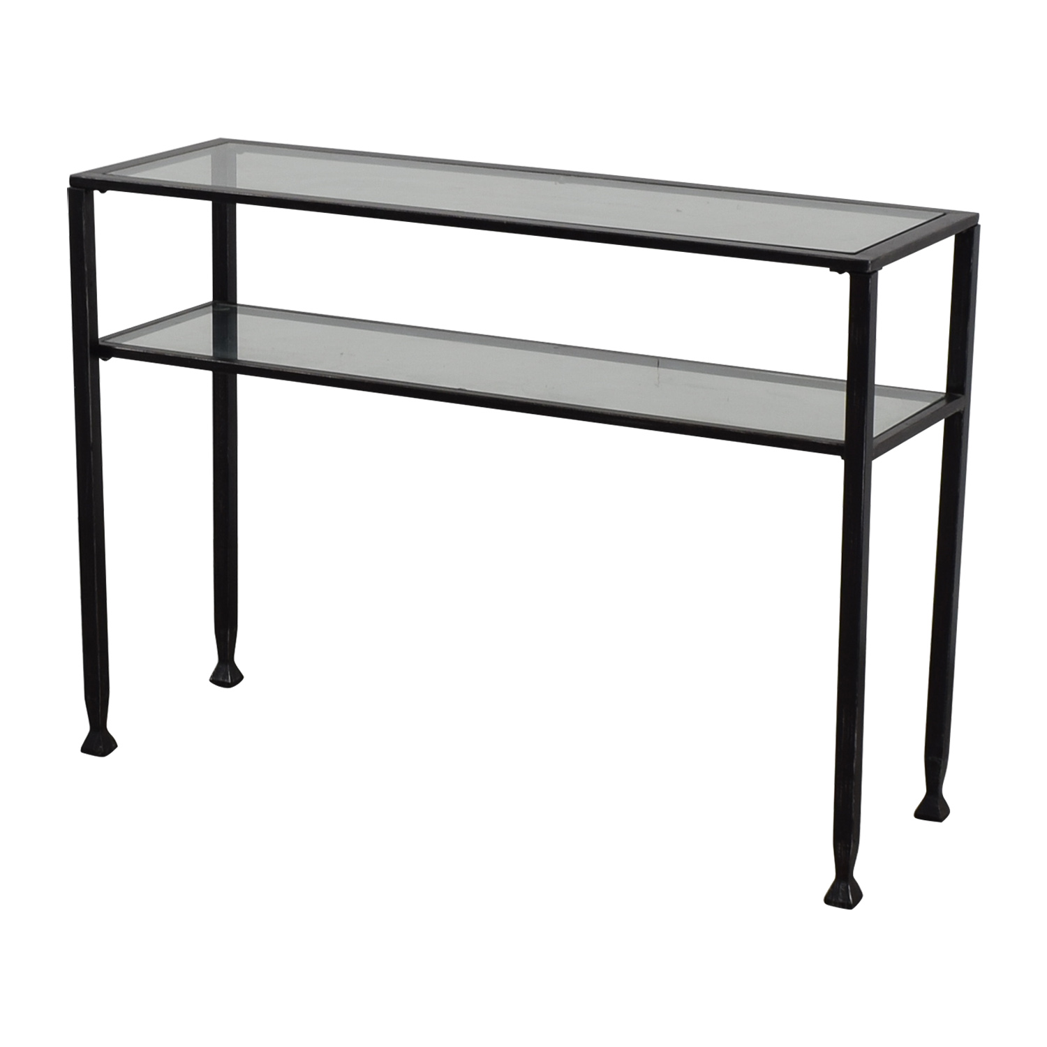 ... Glass And Metal Console Table Coupon ...