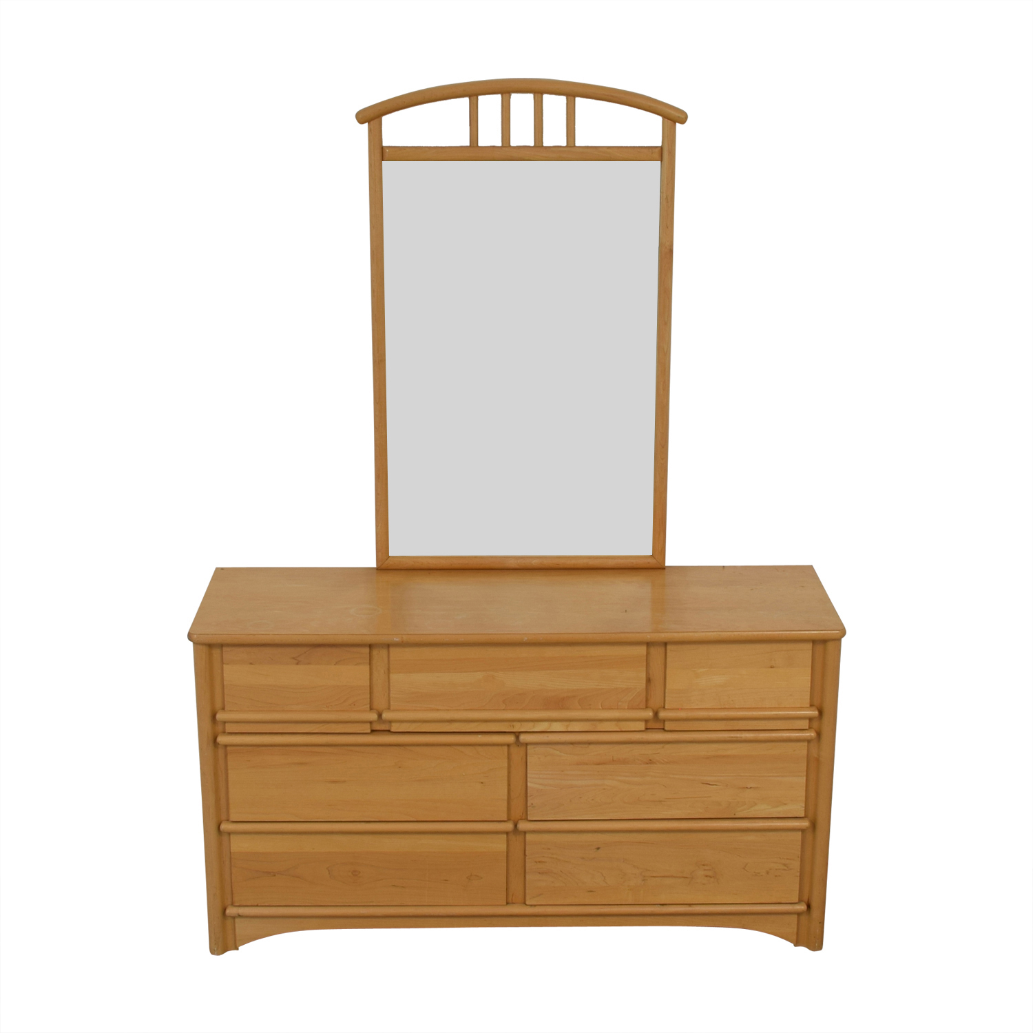 buy Stanley Furniture Seven-Drawer Dresser with Mirror Stanley Furniture Sofas