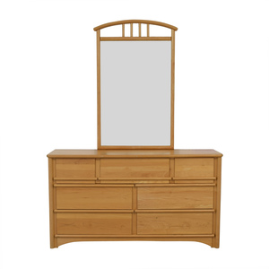 shop Stanley Furniture Seven-Drawer Dresser with Mirror Stanley Furniture