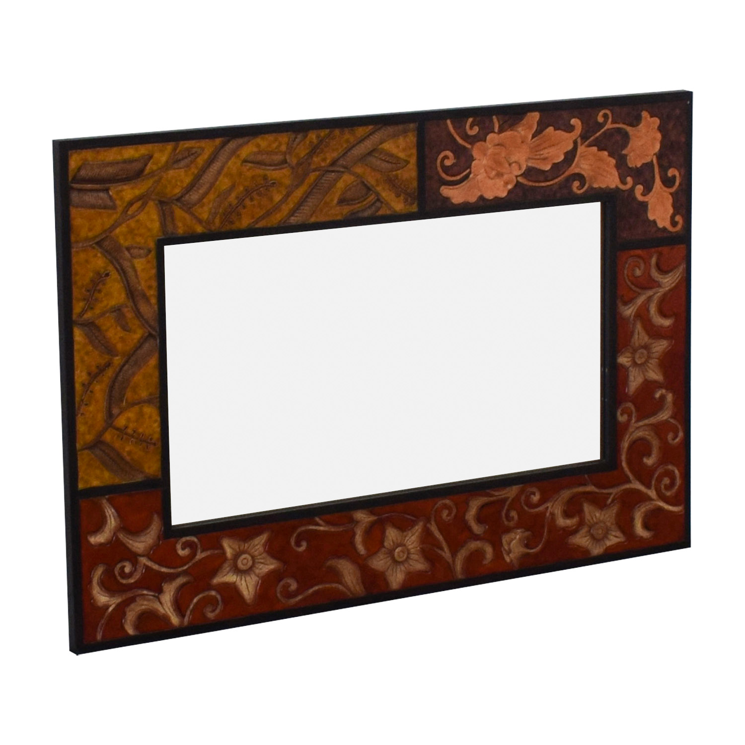 shop Pier 1 Pier 1 Panel Carved Decorative Mirror online