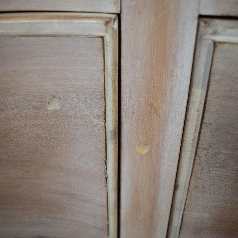 Antique Natural Nine-Drawer Dresser for sale
