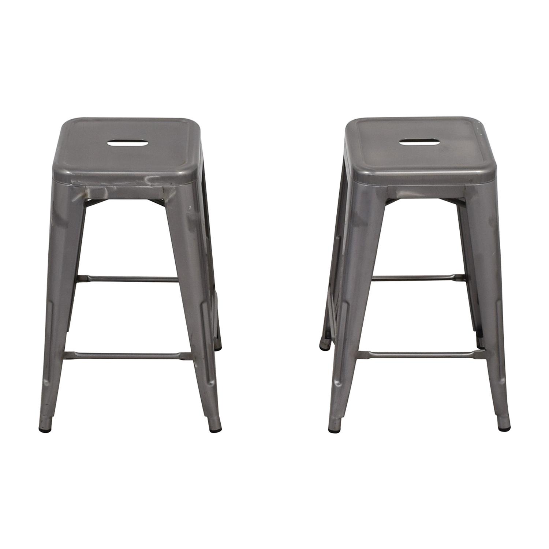 Tolix Style Barstools