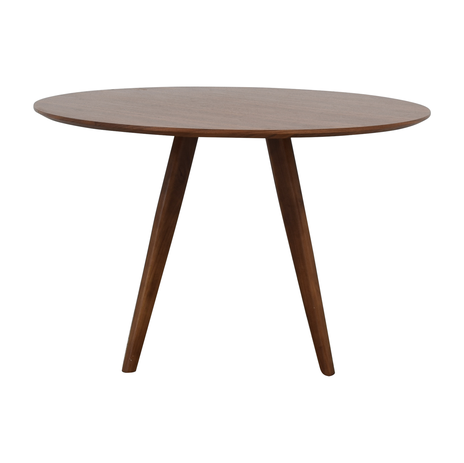 Aurelle Home Aurelle Home Sole Walnut Round Dining Table on sale