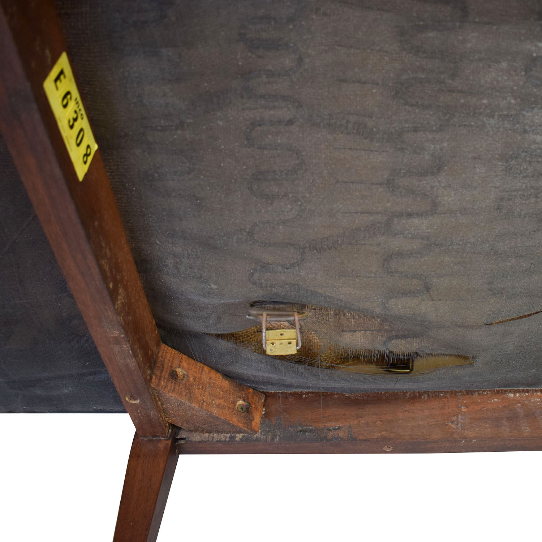 Directional Furniture Directional Furniture Black Tufted Leather Sofa dimensions