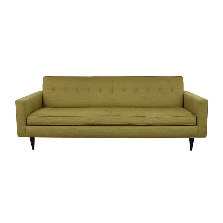 Design Within Reach Design Within Reach Bantam Tan Single Cushion Sofa coupon