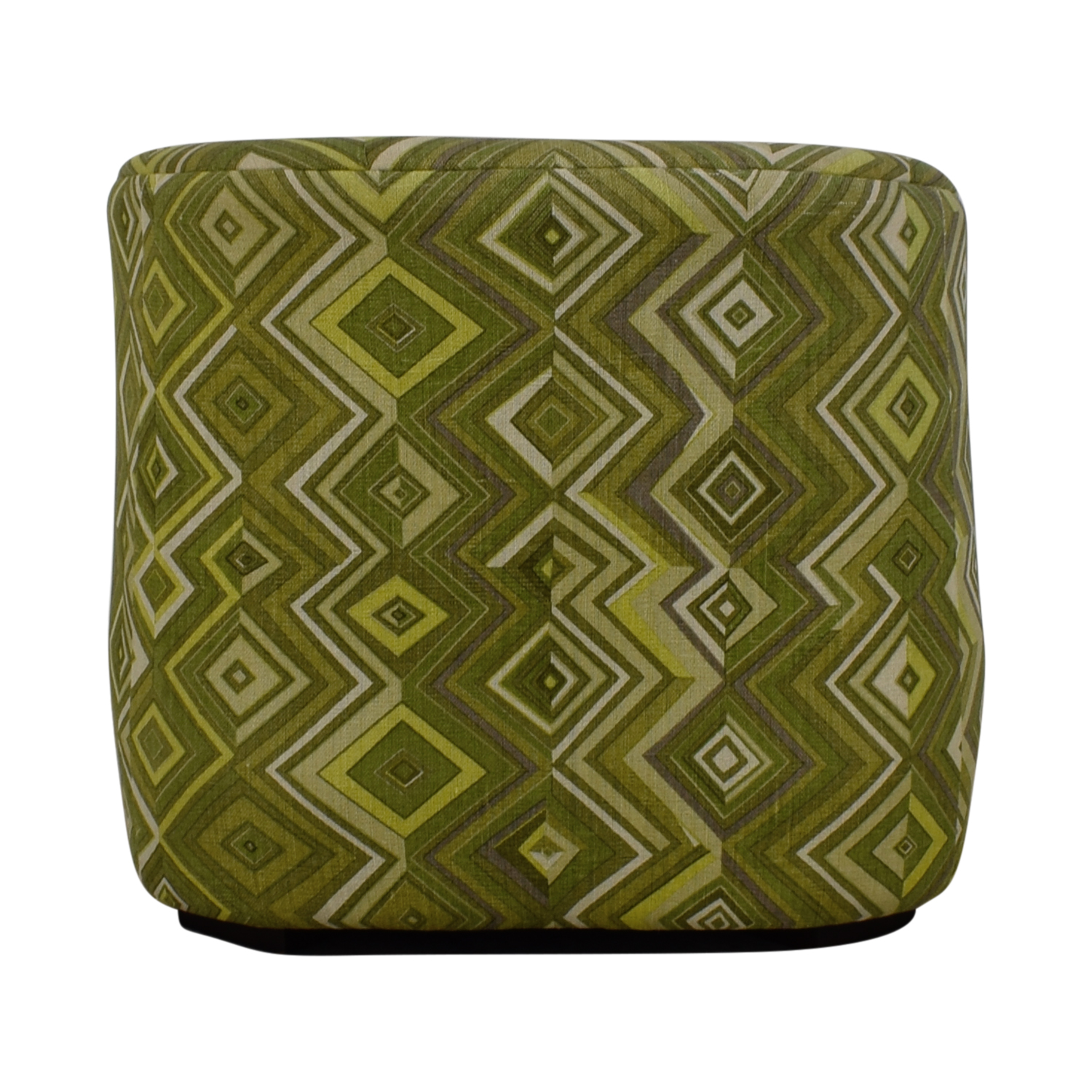 Manor and Mews Rita Green Diamond Upholstered Armchair sale