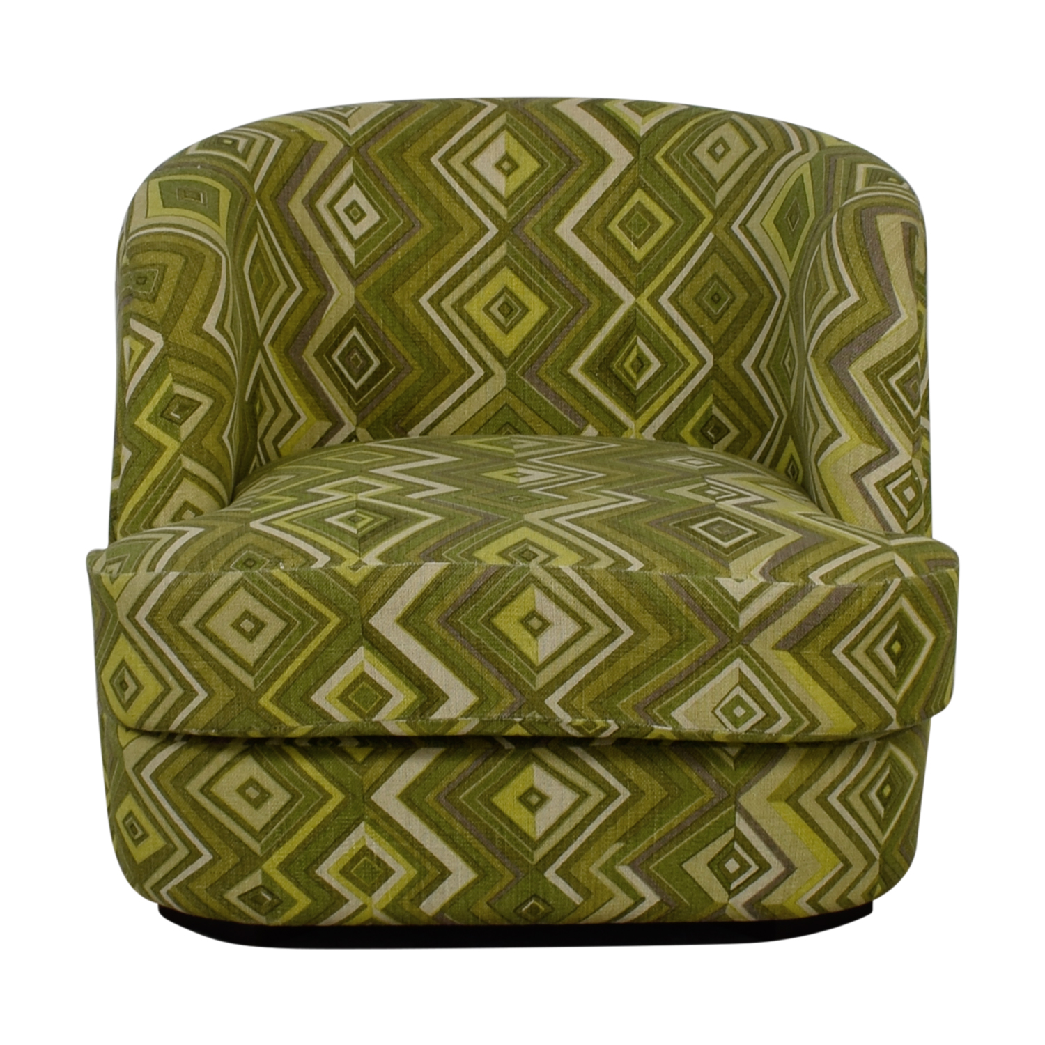 Manor and Mews Manor and Mews Rita Green Diamond Upholstered Armchair coupon