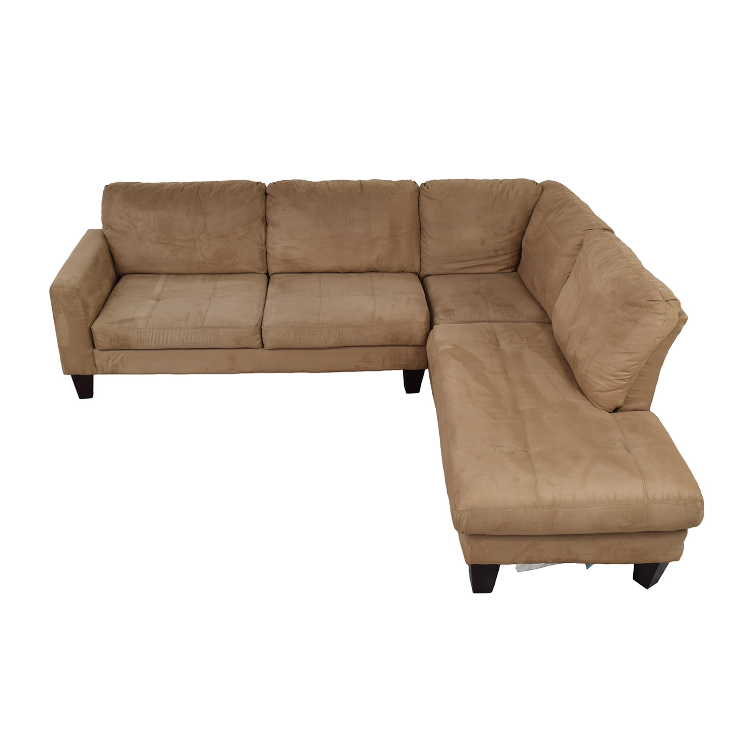 buy Jennifer Furniture Beige Chaise Sectional Jennifer Furniture Sofas