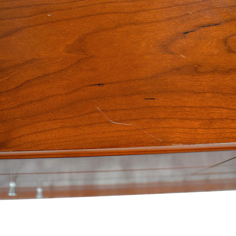 shop Modern Silver Trimmed Dresser with Mirror