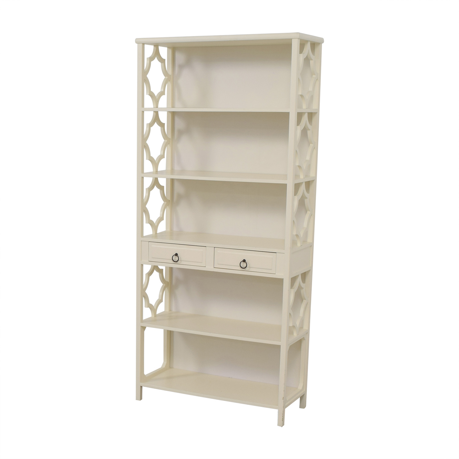 Serena & Lily Serena & Lily Hollywood Regency White Bookcase price
