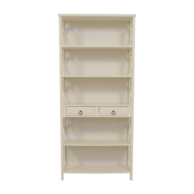 shop Serena & Lily Serena & Lily Hollywood Regency White Bookcase online