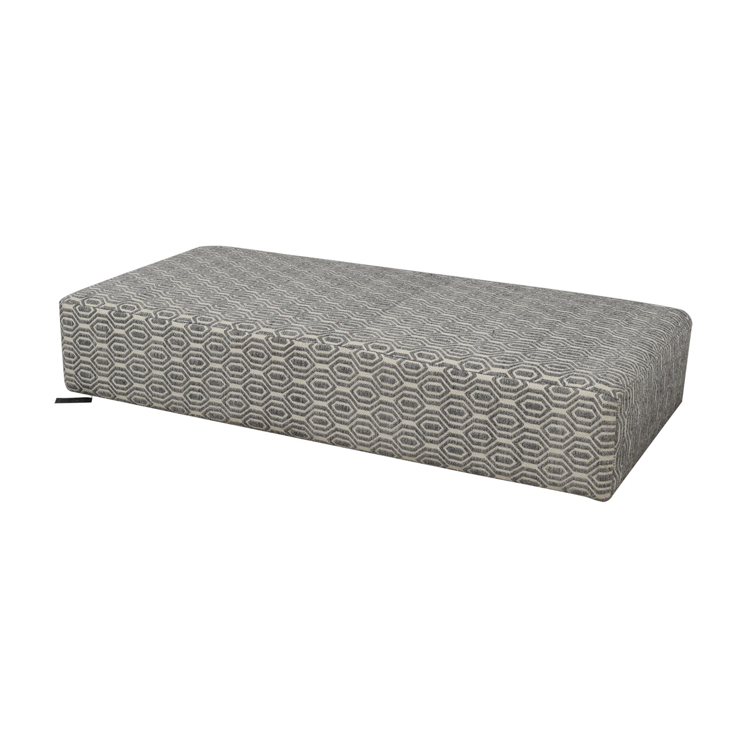 buy Manor and Mews Grey and White Floor Sofa Manor and Mews Chaises
