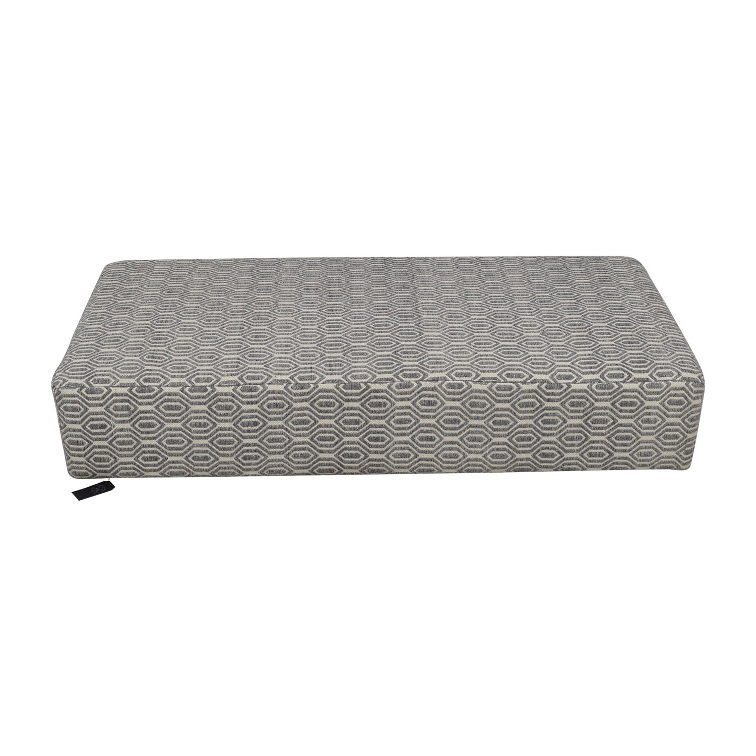 buy Manor and Mews Grey and White Floor Sofa Manor and Mews
