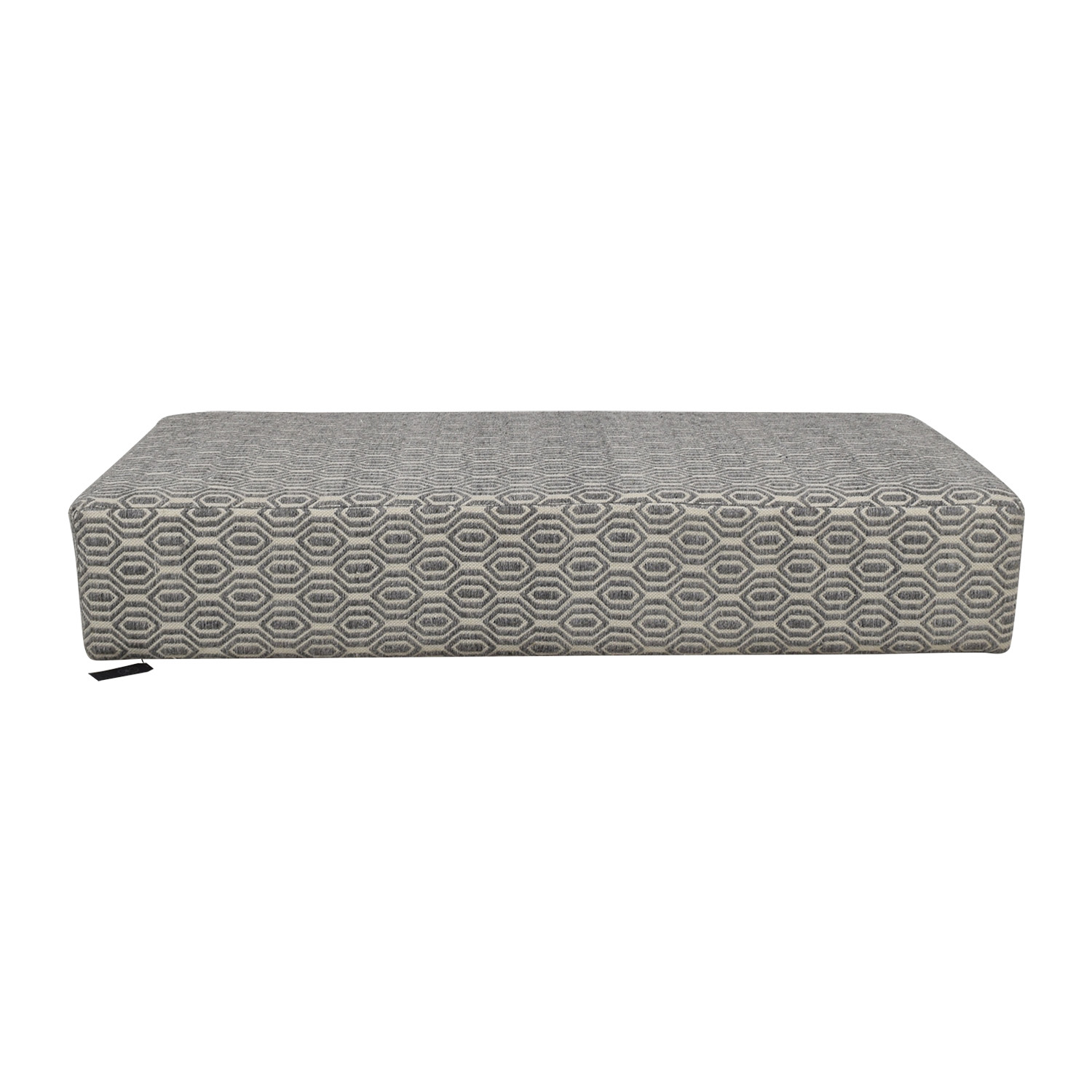 Manor and Mews Manor and Mews Grey and White Floor Sofa discount