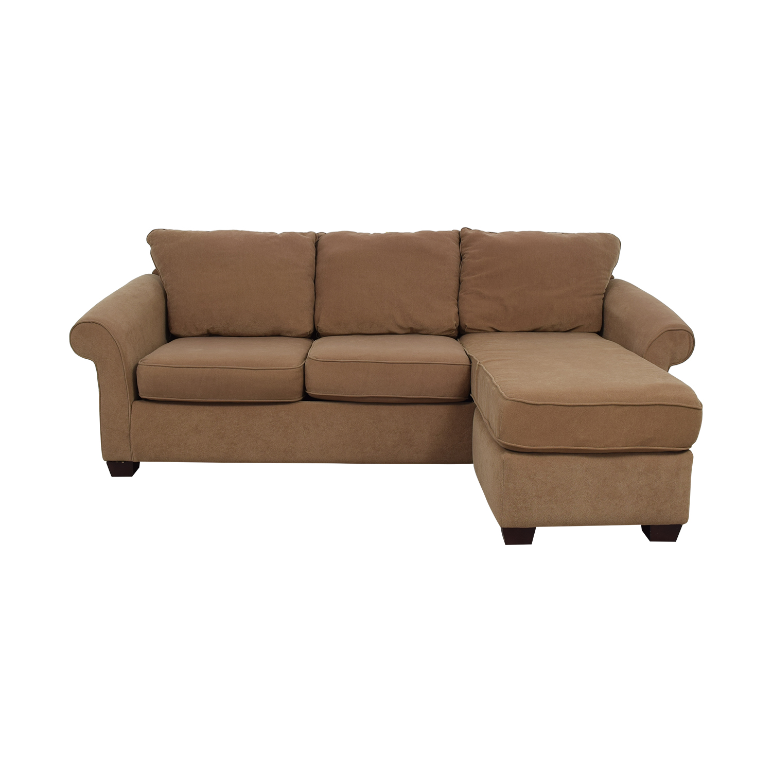 Costco Costco Brown Chaise Sectional Sectionals