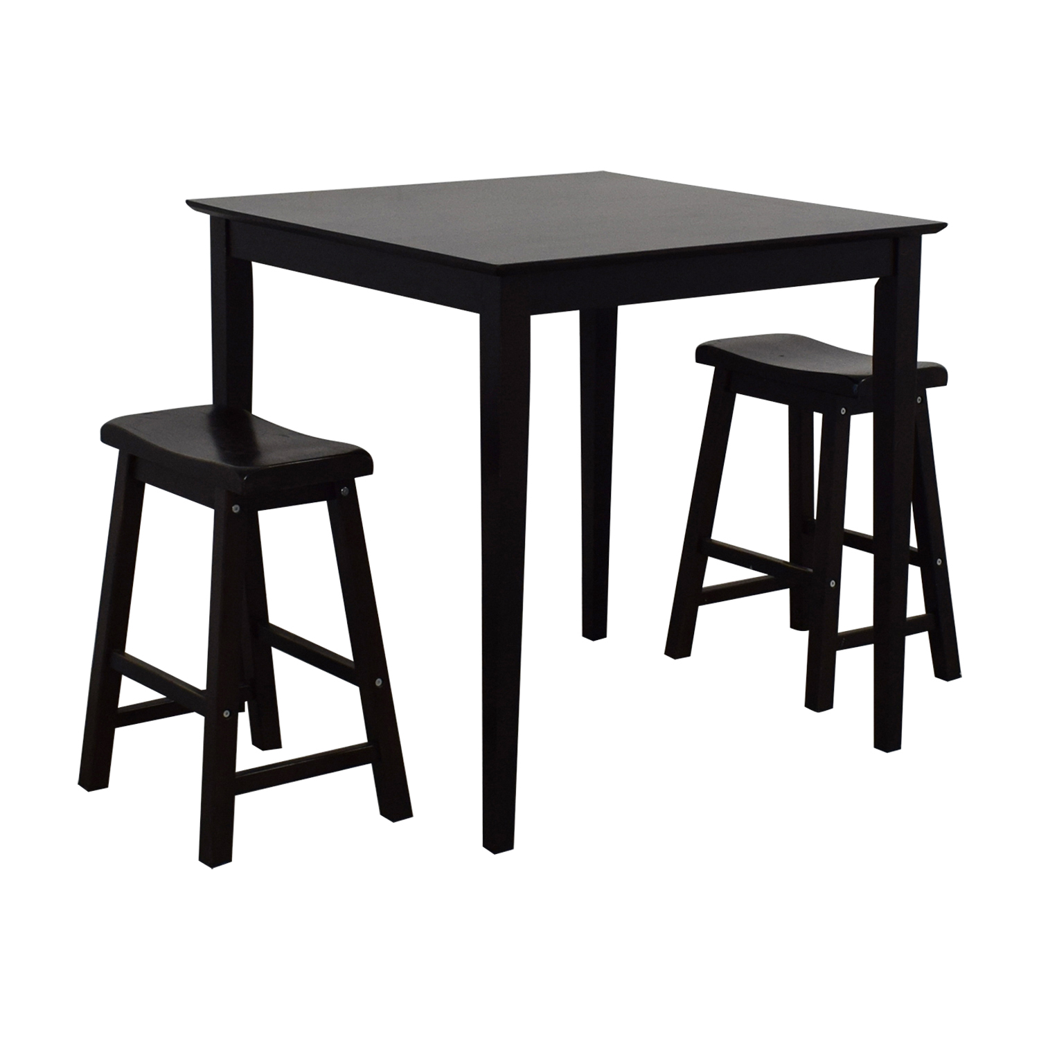 80 Off Ikea Bar Table And Stools Tables