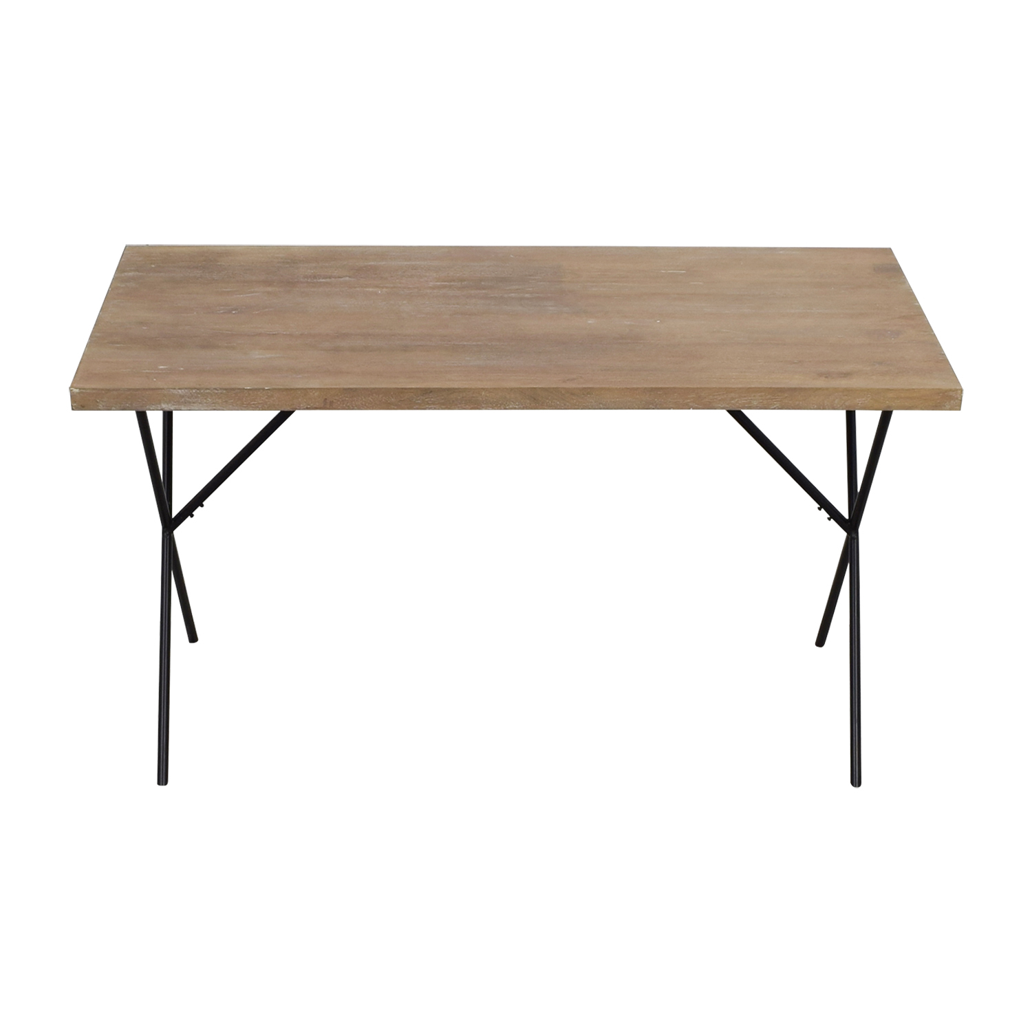 West Elm West Elm Metal Truss Work Table