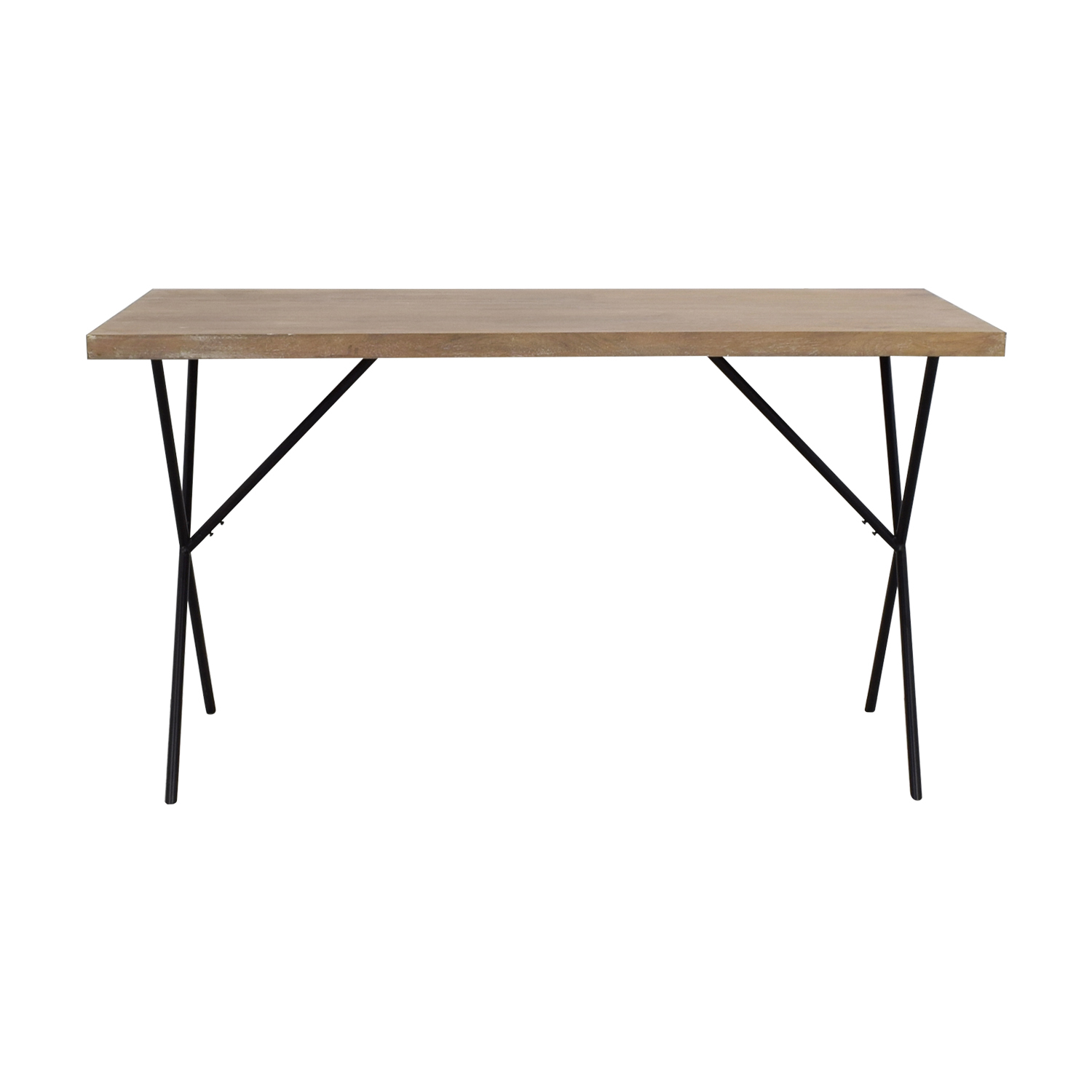 West Elm West Elm Metal Truss Work Table price