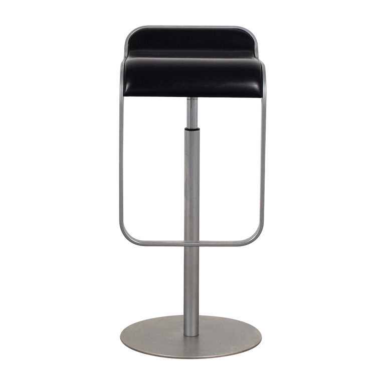 Tov Tov Metal and Leather Barstool second hand