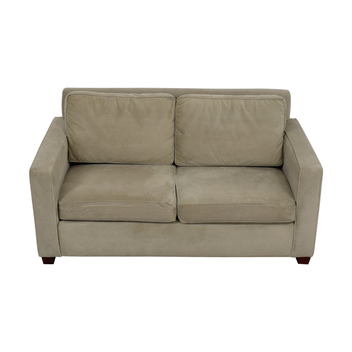 West Elm West Elm Henry Beige Loveseat second hand