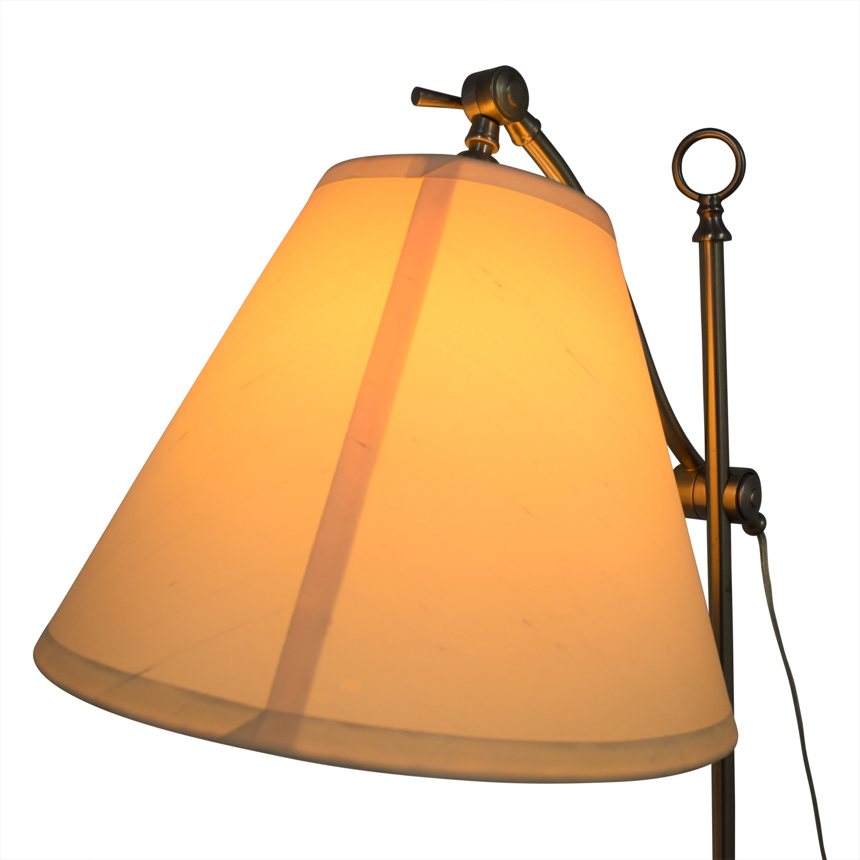 45 Off Restoration Hardware Chrome Floor Lamp Decor
