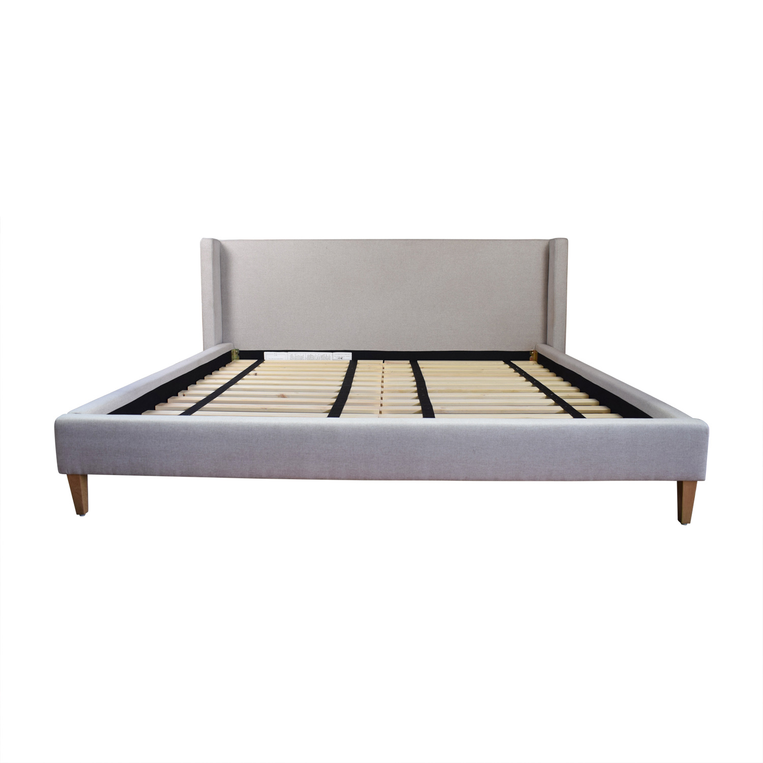 Oliver Dune Platform King Bed Frame on sale