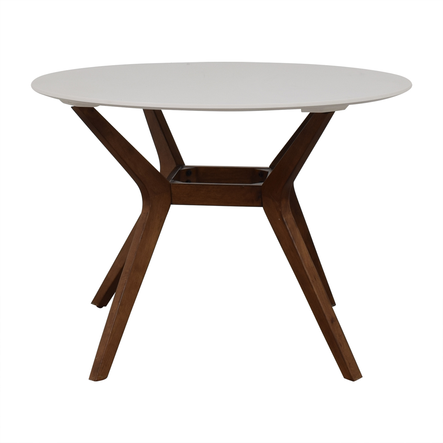 41 Off Project 62 Project 62 By Target White Wooden Dining Table Tables