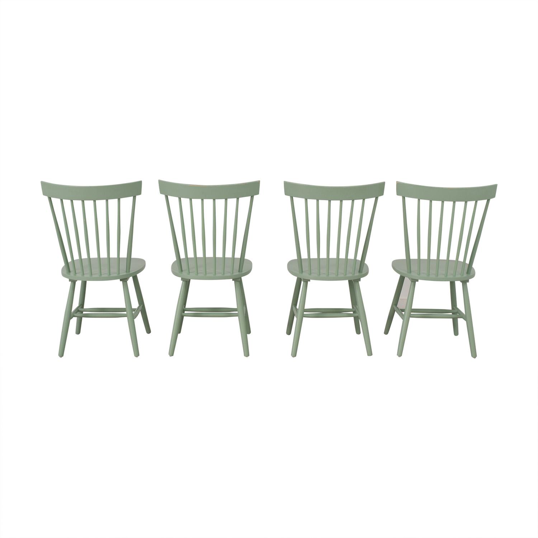 Wayfair Wayfair Green Dining Chairs discount