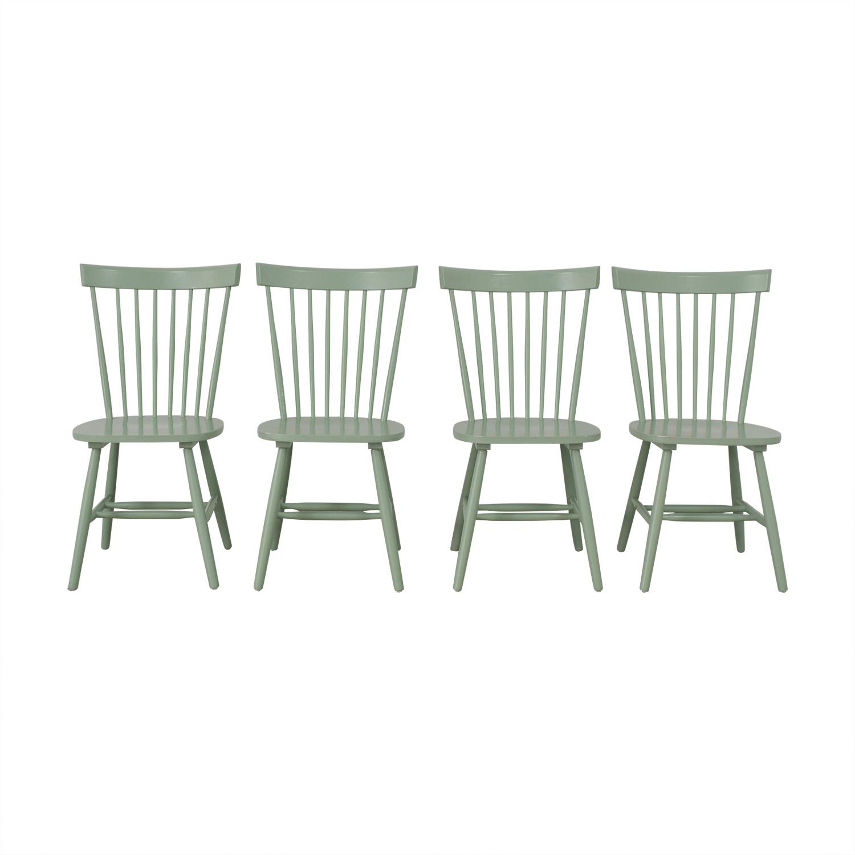 Wayfair Wayfair Green Dining Chairs used