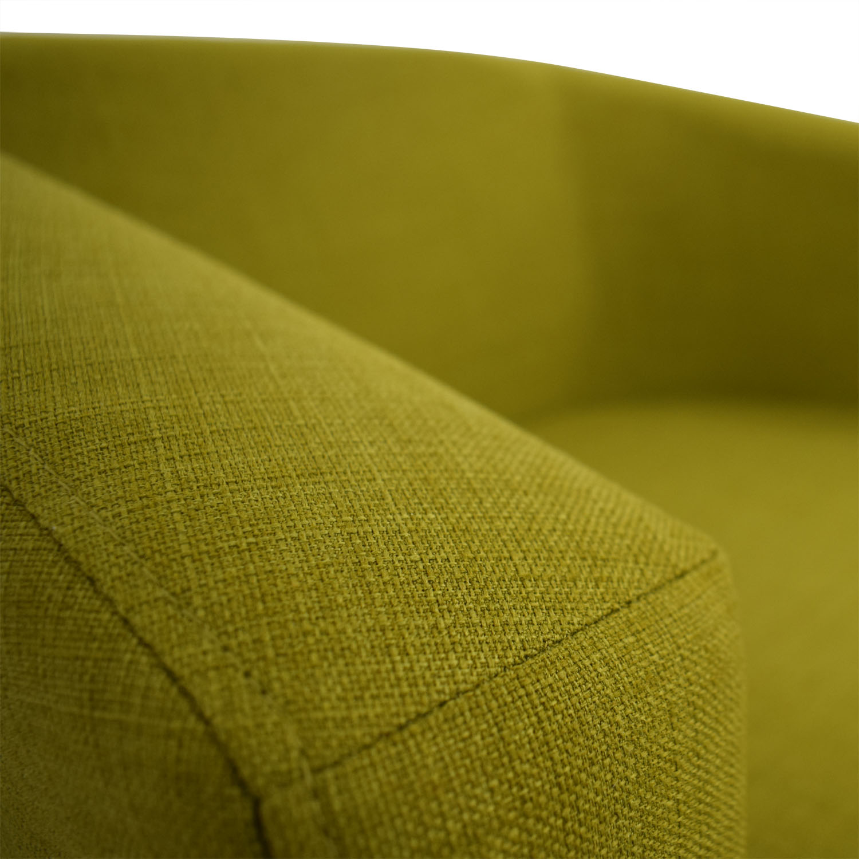 Incredible 88 Off Coaster Fine Furniture Coaster Green Accent Chair Chairs Machost Co Dining Chair Design Ideas Machostcouk