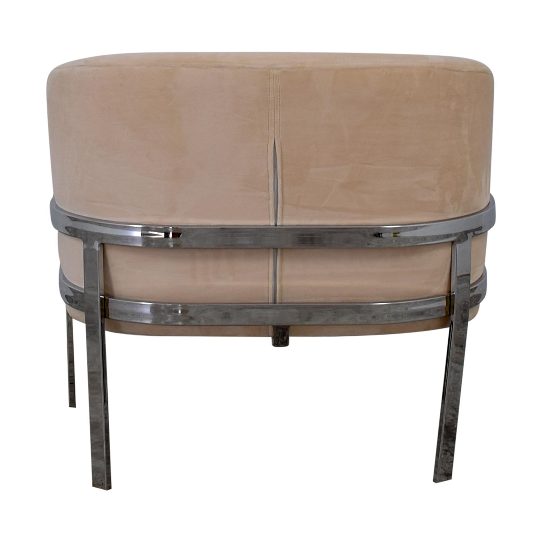 Coaster Velvet Accent Chair Coaster