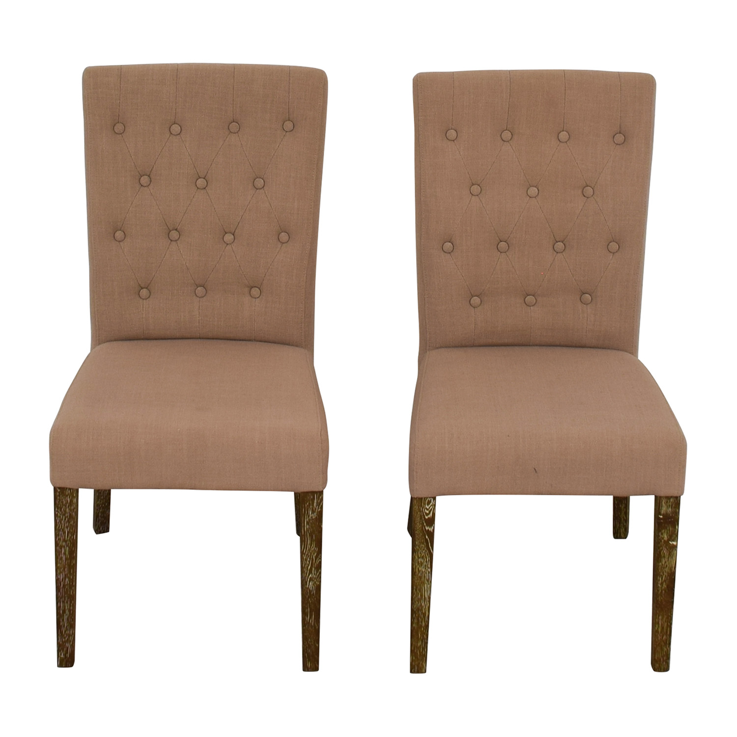 linen dining chairs french classic concepts tufted beige linen dining chairs on sale 84 off