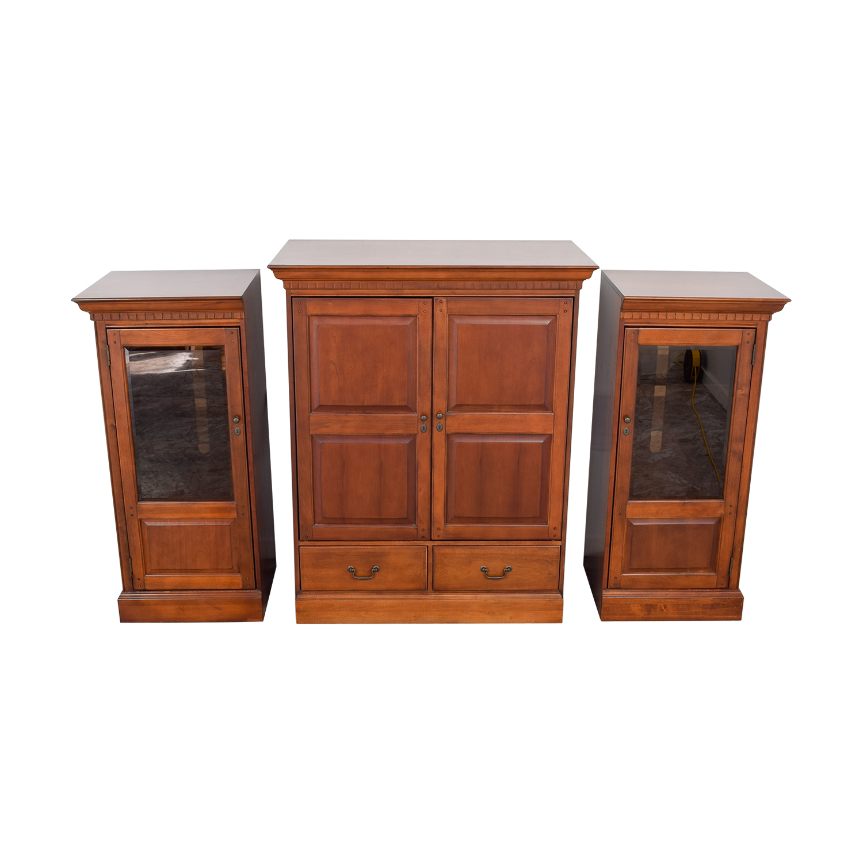Superbe 86% OFF   Hooker Furniture Hooker Wood Entertainment Media Wall Unit /  Storage