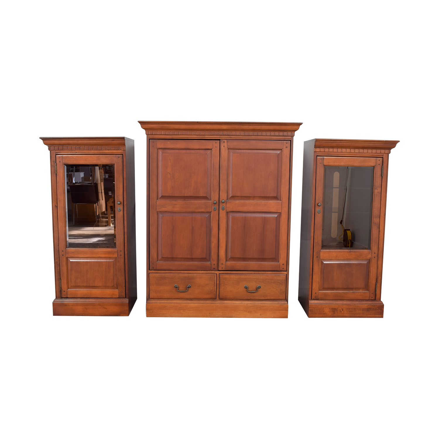 Hooker Hooker Wood Entertainment Media Wall Unit discount