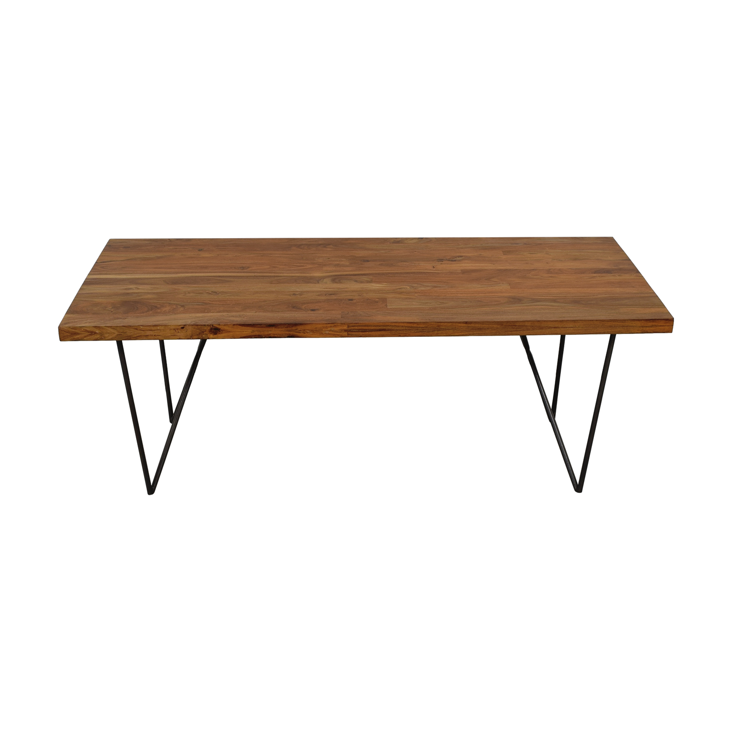 CB2 CB2 Dylan Wood Dining Table nyc