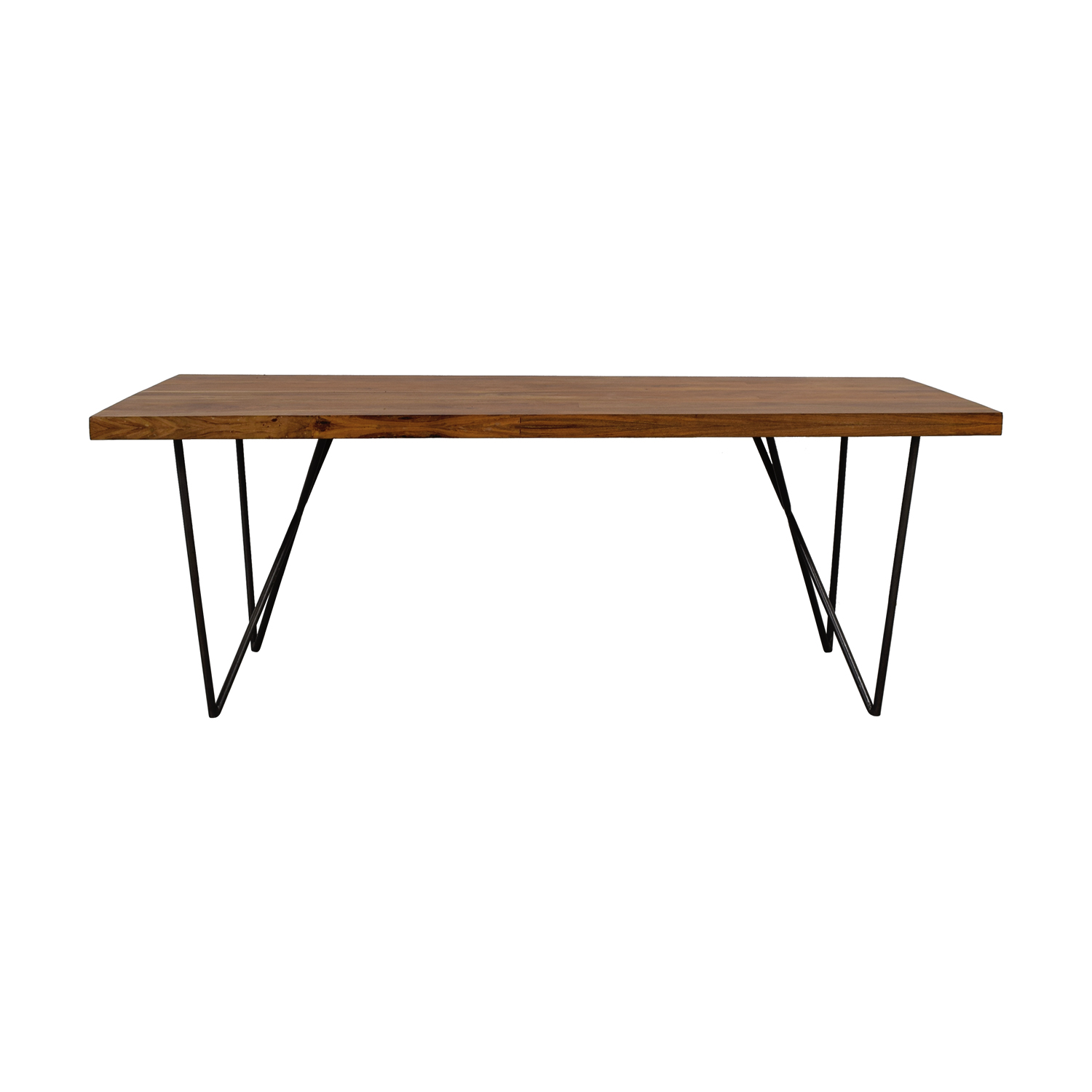buy CB2 Dylan Wood Dining Table CB2 Tables