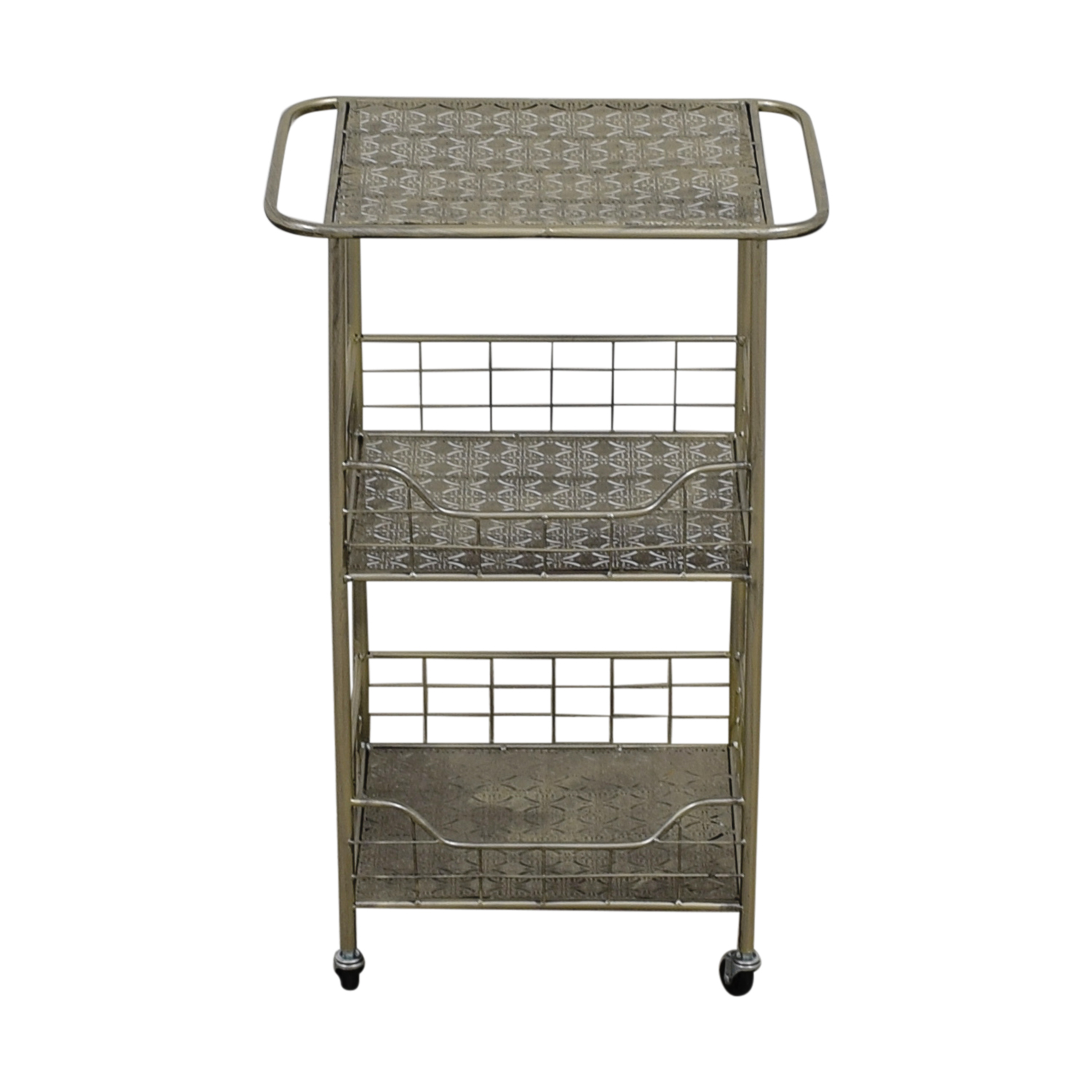 buy ABC Carpet & Home Silver Plated Kitchen Cart ABC Carpet & Home Sofas