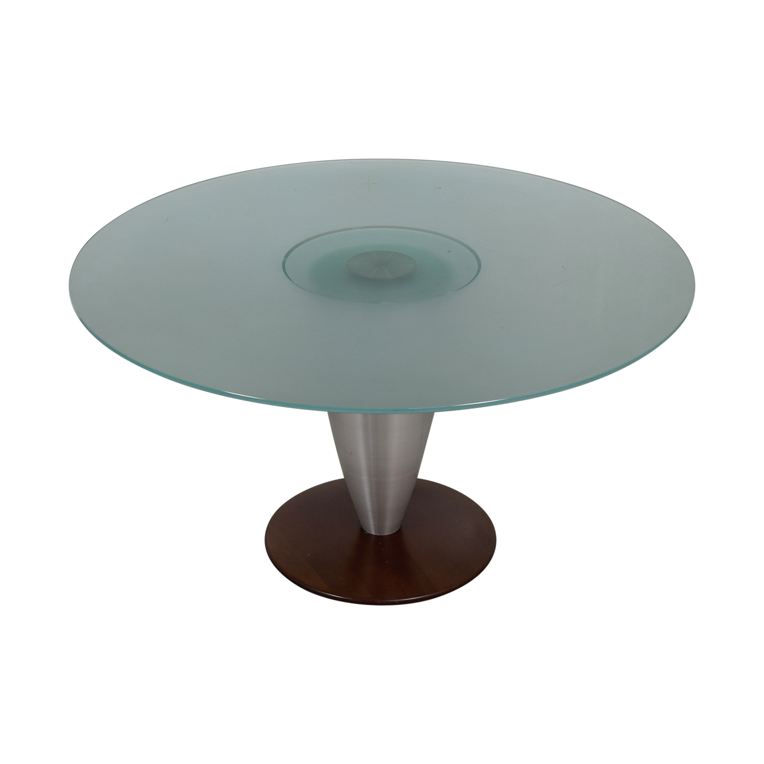 Design Studio Round Glass Dining Table / Dinner Tables